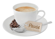 Kaffee - Pause