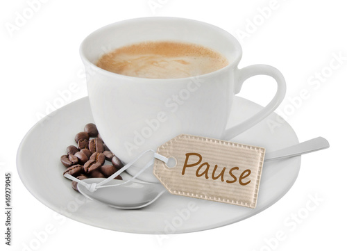 Kaffee - Pause Wallpaper Mural