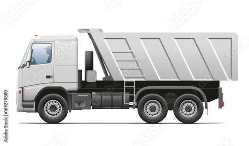 Photo  Truck. Tipper