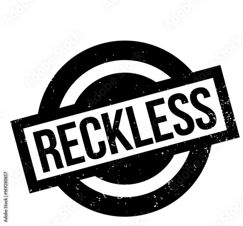 Fotografia, Obraz Reckless rubber stamp