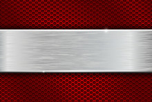Iron Brushed Metal Texture On ...