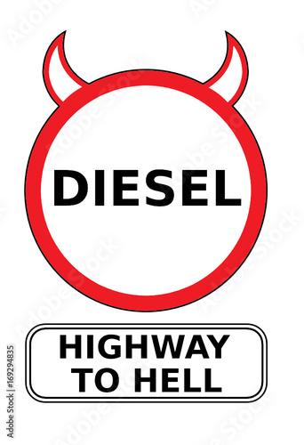 фотография Diesel - Highway To Hell