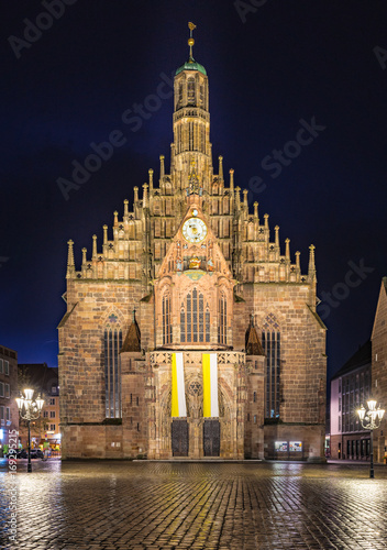 Canvas Prints Antwerp Nuremberg Germany Church Frauenkirche