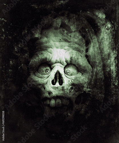 Halloween Wallpaper Scary Zombie Horror Background With
