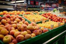 Shelf With Fruits, Toned