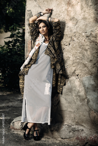 Poster Gypsy feminine clothes style