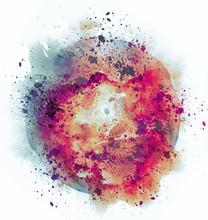 Colrful Watercolor Splash