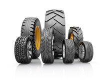 Set Of Tires For A Different C...