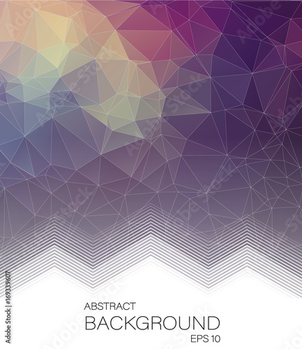 Abstract Vertical 2D geometric background