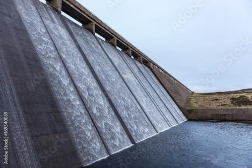 Plakat Overspill at Cowgreen Reservoir
