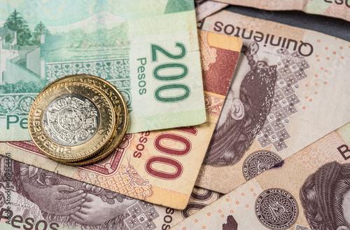 Peso Mexicano Monedas Y Billetes