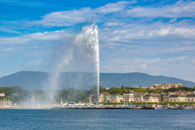 Geneva Lake And Jet Fountain I...