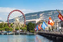 Ferris Wheel In Geneva