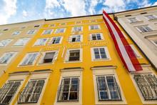 Birthplace Of Mozart In Salzburg