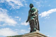 Statue Off Mozart In Salzburg