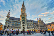 The New Town Hall In Munich, Germany