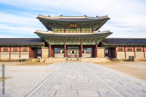 Gyeongbok Palace in Seoul, South Korea