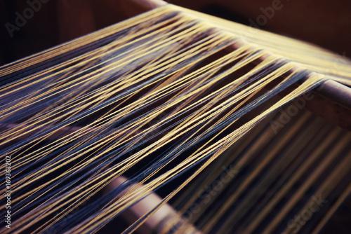 Foto op Aluminium Stof 織物