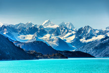Alaska Nature Landscape View From Cruise Travel