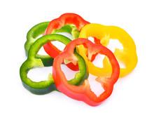 Slice Of Sweet Bell Pepper Or ...