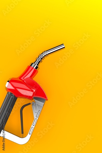 Gasoline nozzle Wallpaper Mural