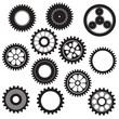 machine gear collection cogwheel set