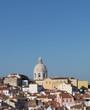Blick über das Lissabonner Stadtviertel Alfama