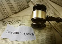 Freedom Of Speech Message