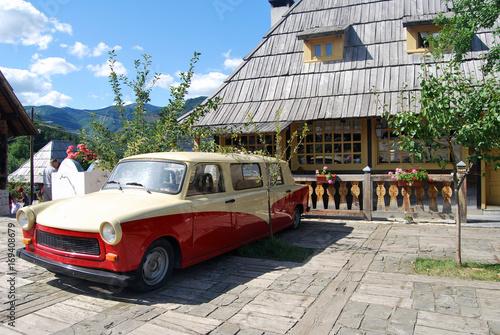 Deurstickers Cubaanse oldtimers Car