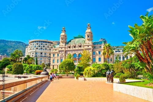 Foto auf Leinwand Nice Monte-Carlo, Fürstentum Monaco