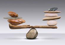 The Balance Of Pyramids Stones