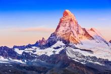 Zermatt, Switzerland. East And...