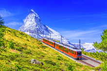 Zermatt, Switzerland. Gornergr...