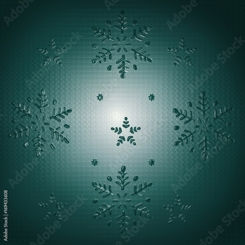Deurstickers Surrealisme Christmas Background Graphic Relief
