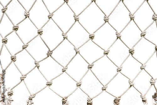 Obraz White rope net woven - fototapety do salonu