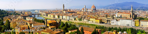 Florence Italy cityscape panoramic