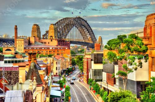 Sydney Harbour Bridge, built in 1932. Australia