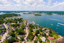 Portsmouth Harbor Aerial View ...