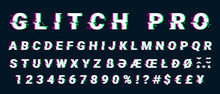 Glitch Distorted Font Letter S...