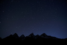 Grand Tetons And The Ursa Majo...