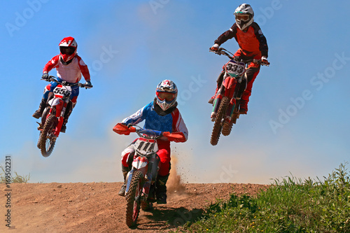 In de dag Motorsport motocross-Polska