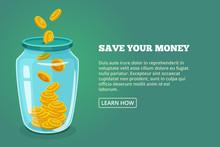 Save Your Money. Concept Pictu...