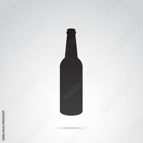 Obraz na plátně  Bottle vector icon.