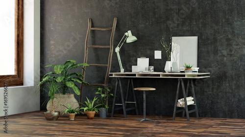 Gemutlicher Schreibtisch In Buro Zuhause Home Office Buy This