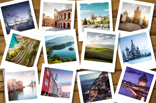 Fototapeta Bucket list destinations obraz