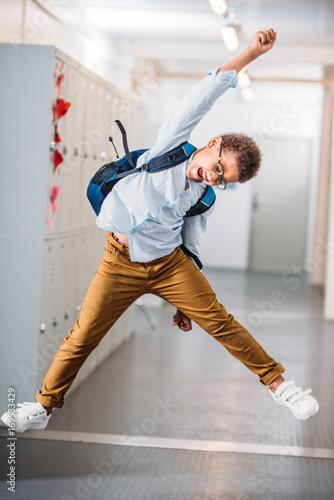 Photo schoolboy