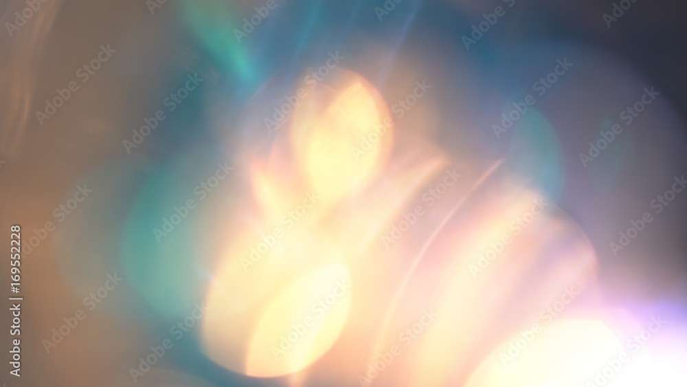 Fototapety, obrazy: Beautiful colorful lens flares