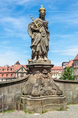 Foto op Plexiglas Artistiek mon. Sculpture in Bamberg (Germany, Bavaria)