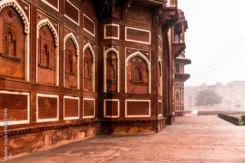 Photo  Jahangir Palace at the Red Fort of Agra, India