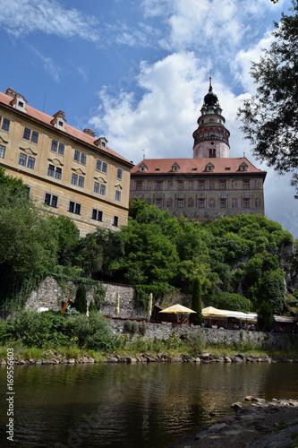 Foto op Plexiglas Artistiek mon. View of the Cesky Krumlov, Czech Krumlov, Czech Republic